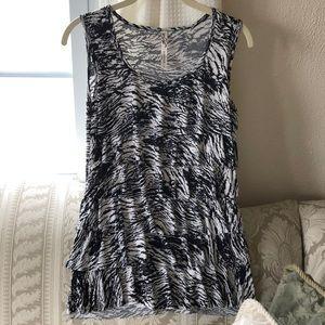 Long tank top. Dress up or down!
